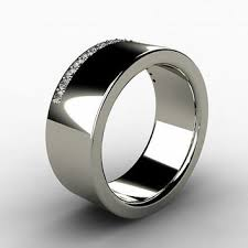 Mens Titanium Wedding Rings by Shop Diamond Commitment Rings On Wanelo