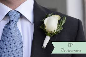 How To Make Corsages And Boutonnieres Diy Boutonniere Diy Buttonhole For The Groom Easy Wedding Diy