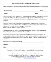 photo release form template templates radiodigital co