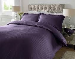 100 cotton luxury duvet cover set pillow case bedding single
