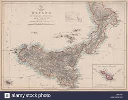 Map Of Naples Italy by Kingdom Of Naples Two Sicilies South Sicily Malta Italy Dower