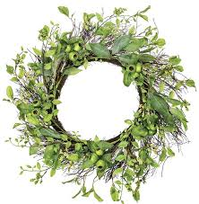 styrofoam wreath august grove leaf pod 26 styrofoam wreath reviews wayfair