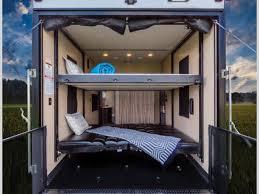 happijac bed cherokee wolf pack toy hauler fifth wheel rv sales 5 floorplans