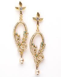 pearl chandelier earrings dainty pearl chandelier earrings available at ma shoe