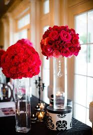 Red Roses Centerpieces Creative Idea Beautiful Flower Centerpieces With Round Clear