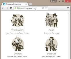 how do you send a telegram send push notifications with telegram messenger on the raspberry pi