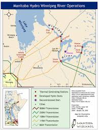 Churchill Canada Map by Manitoba Development And Industry