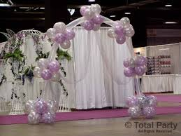 wedding arch balloons services balloon arches total party llc