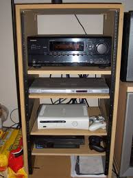 home theater equipment rack the meager redman ht audioholics home theater forums