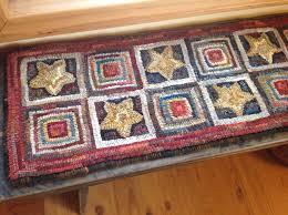 Hooked Rug Patterns Primitive Patterns Medium Designs In Wool