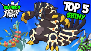 Omega Ruby Top 5 Coolest Looking Shiny Pokemon In Omega Ruby And Alpha