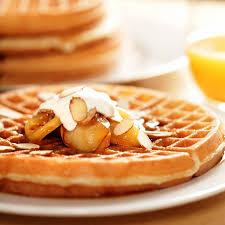 apple waffles thanksgiving