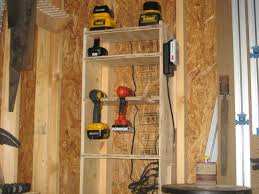 cordless drill storage and charging station youtube