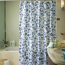 Blue And Green Shower Curtains Water Style Bathroom Waterproof Blue Shower Curtain