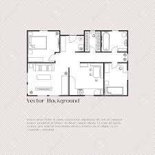 house plan background for card banner presentation template
