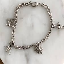 butterfly bracelet charms images Tiffany co jewelry tiffany butterfly dragonfly turtle charm jpeg