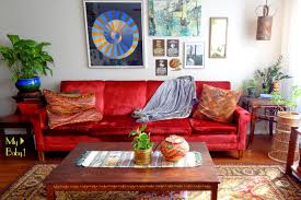 gypsy yaya my obsession with vintage couches midcentury vintage boho livingroom
