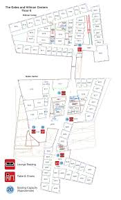 Cmu Campus Map Public Seating And Work Areas In Scs Available To Masters Students