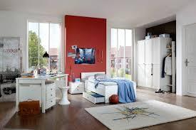 Schreibtisch Extra Breit Jugendzimmer 3 Tlg In Alpinweiß Kleiderschrank Breite 135 Bett