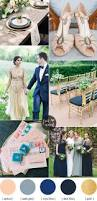 apricot wedding colors with gold cadet blue dark blue and