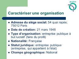 siege social ratp ratp régie autonome des transports parisiens ppt