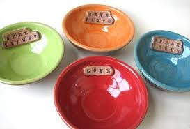 personalized bowl lucky etsy finds friday