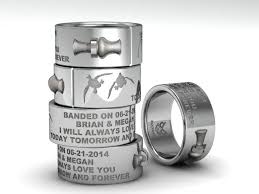 inexpensive wedding rings white gold duck band wedding rings