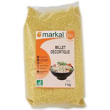 cuisiner le millet millet décortiqué céréales produit bio markal