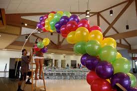 Balloon Decor Ideas Birthdays Brookie U0027s Tinkerbell Birthday Balloon Decorations Magenta Pink