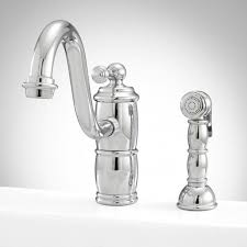 1 hole kitchen faucet larsen single hole kitchen faucet with side spray kitchen