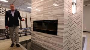 fireplace u0026 room designs faux wood u0026 marble tile ideas youtube