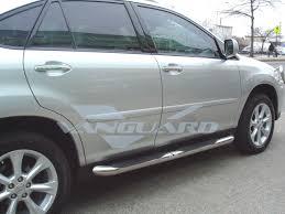 lexus rx 400h hybrid 2009 t 304 04 09 rx330 rx350 rx400h side step nerf bar running board 3