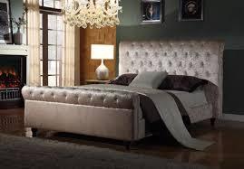 Luxury Bed Frame Luxury Velvet Bedframe Selene Colour Beautysalexx