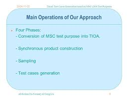 timed test cases generation based on msc 2000 test purposes