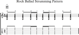 ghs guitar the rock ballad strum and a couple of song examples