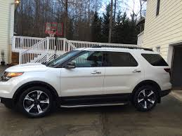 Ford Explorer White - the official