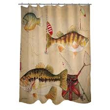 Fishing Shower Curtains Amazing Of Fishing Shower Curtains Ideas With Bass Fishing Shower