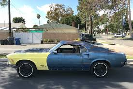 Mustang Mach One Cross Country Pony 1969 Mustang Mach 1