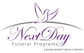 Funeral Programs Online Next Day Funeral Programs Online Designer