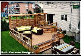 Patio Decks Designs Outdoor Decks And Patios Home Ideas Designs