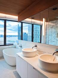 style minimal interior modern bath design