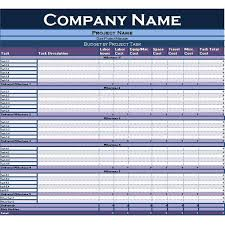 basic project plan template excel project planner free project