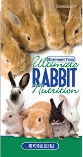 rabbit food rabbit booster 16 bluebonnet feeds