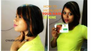 hair color high light how to highlight your hair at home with streax hair color ii