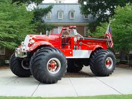 original bigfoot monster truck toy fire truck pictures game live with this huge rc ride in tank