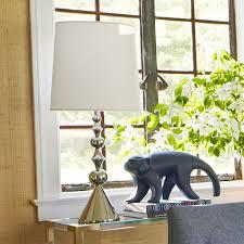 jonathan adler harlequin table lamp polished nickel u2013 clayton gray