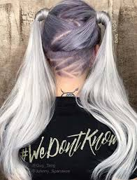 nape of neck hair cut for women 45 undercut hairstyles with hair tattoos for women fashionisers