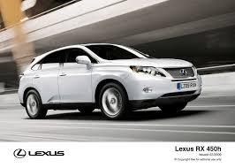 lexus rx400h fuel economy lexus announces class leading emissions and fuel economy for new