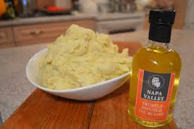 how to cook truffle oil mashed potatoes wine country kitchens