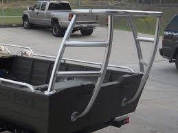 poling platform on aluminum boat boat ideas pinterest
